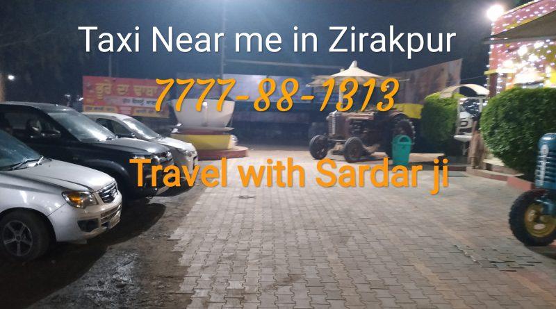 Taxi Stand Zirakpur 7777-88-1313
