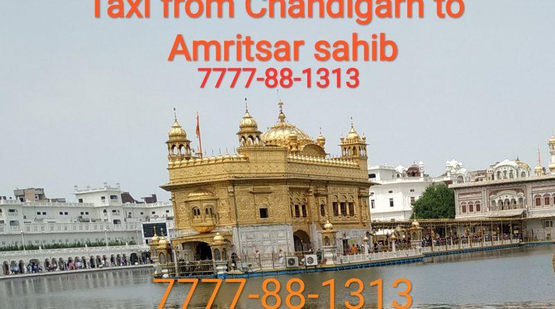 Chandigarh Amritsar sahib taxi service