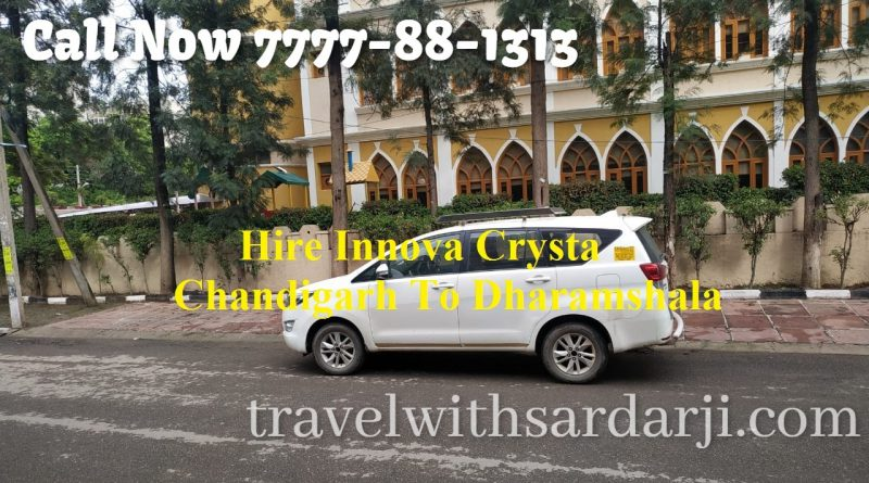 Hire Innova Crysta Chandigarh To Dharamshala | 50 % off | Book one-way taxi/cab Chandigarh To Dharamshala 7777-88-1313