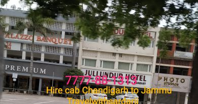 Cab from Chandigarh to Jammu | 50 % off | Book one way cab from Chandigarh to Jammu 7777881313