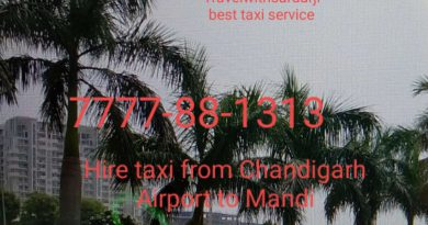 Hire taxi from Chandigarh Airport to Mandi Himachal Pradesh| Book one way taxi/cab from Chandigarh Airport to Mandi| Call taxi/ cab Mandi to Chandigarh 7777-88-1313
